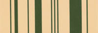 cream and green stripe awning fabric