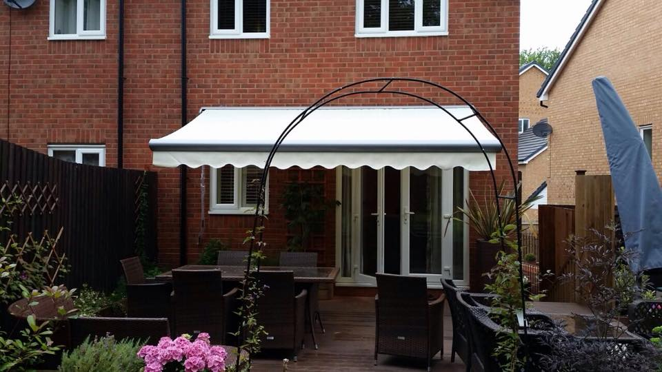 patio awning fitted in UK