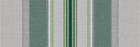 grey and green stripe awning fabric