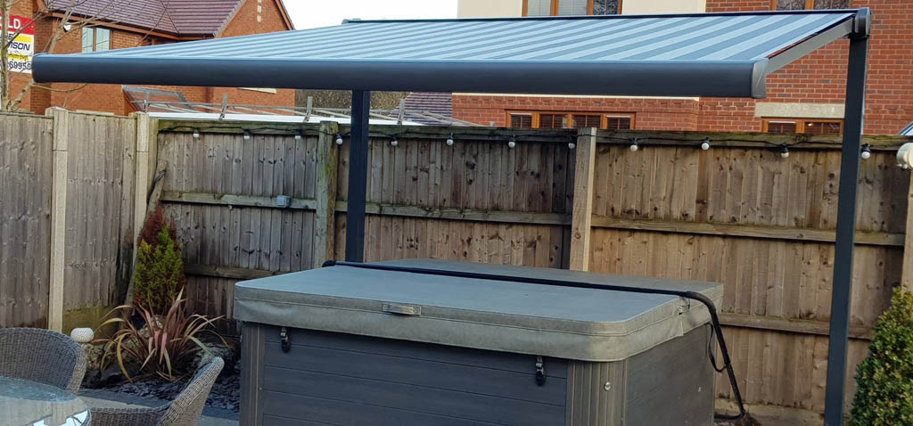 hot tub awning