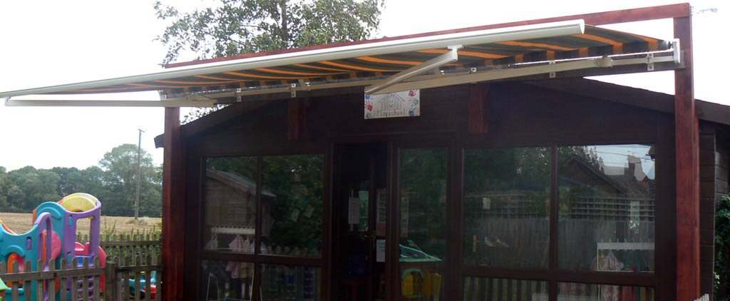 School nursery awning
