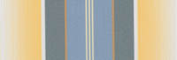 lemon and blue stripe awning fabric