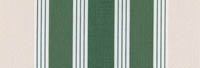 white and green stripe awning fabric