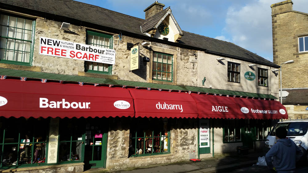 awnings clitheroe